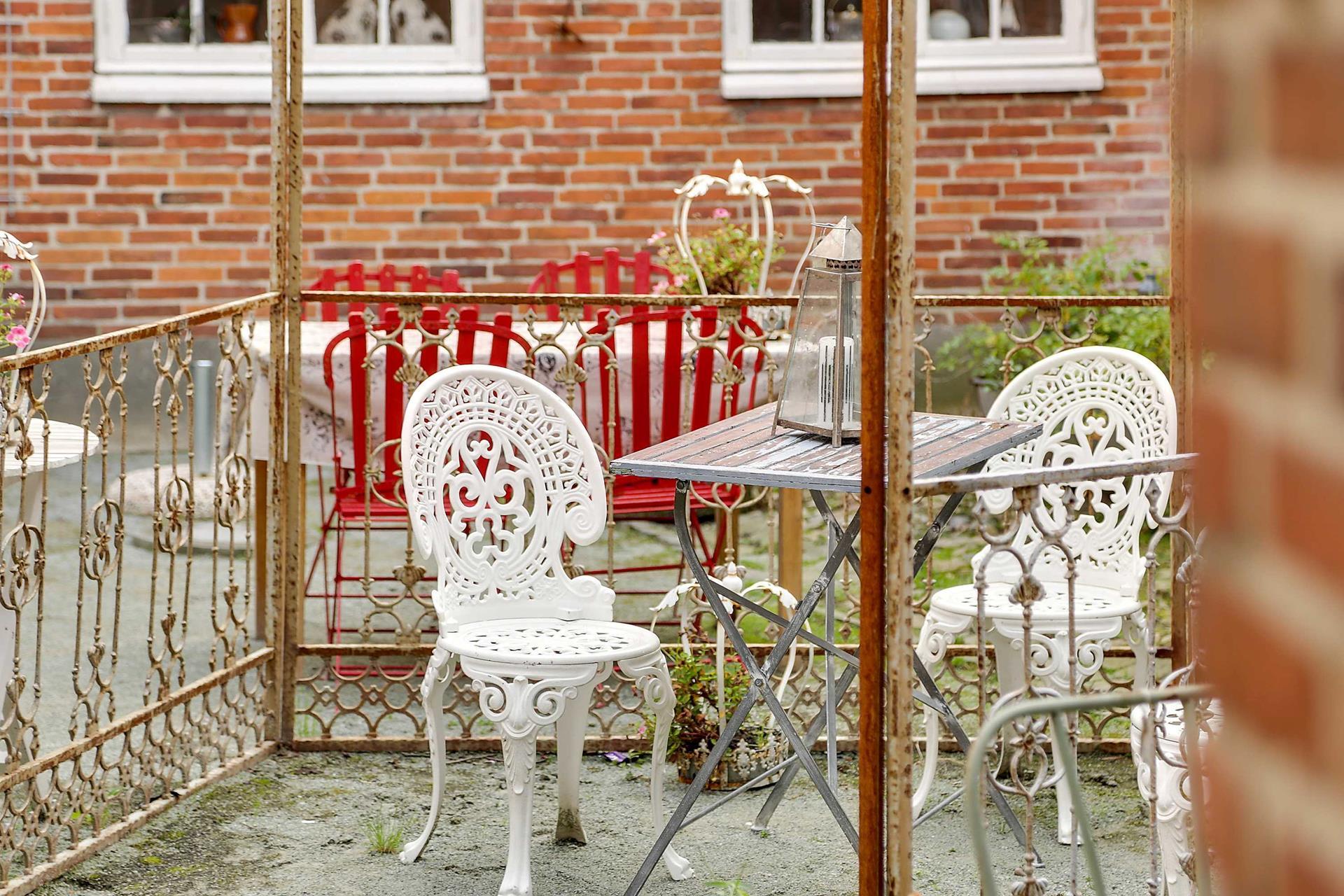 Bolig/erhverv på Slotsgaden i Tønder - Altan