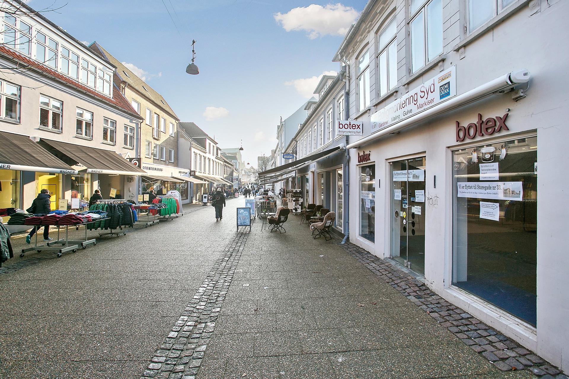 Bolig/erhverv på Storegade i Haderslev - Andet