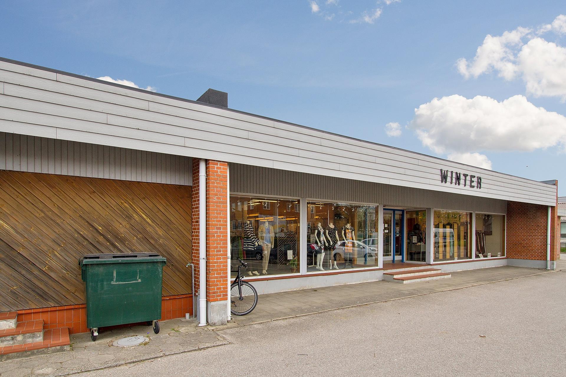 Bolig/erhverv på Storegade i Skærbæk - Ejendommen