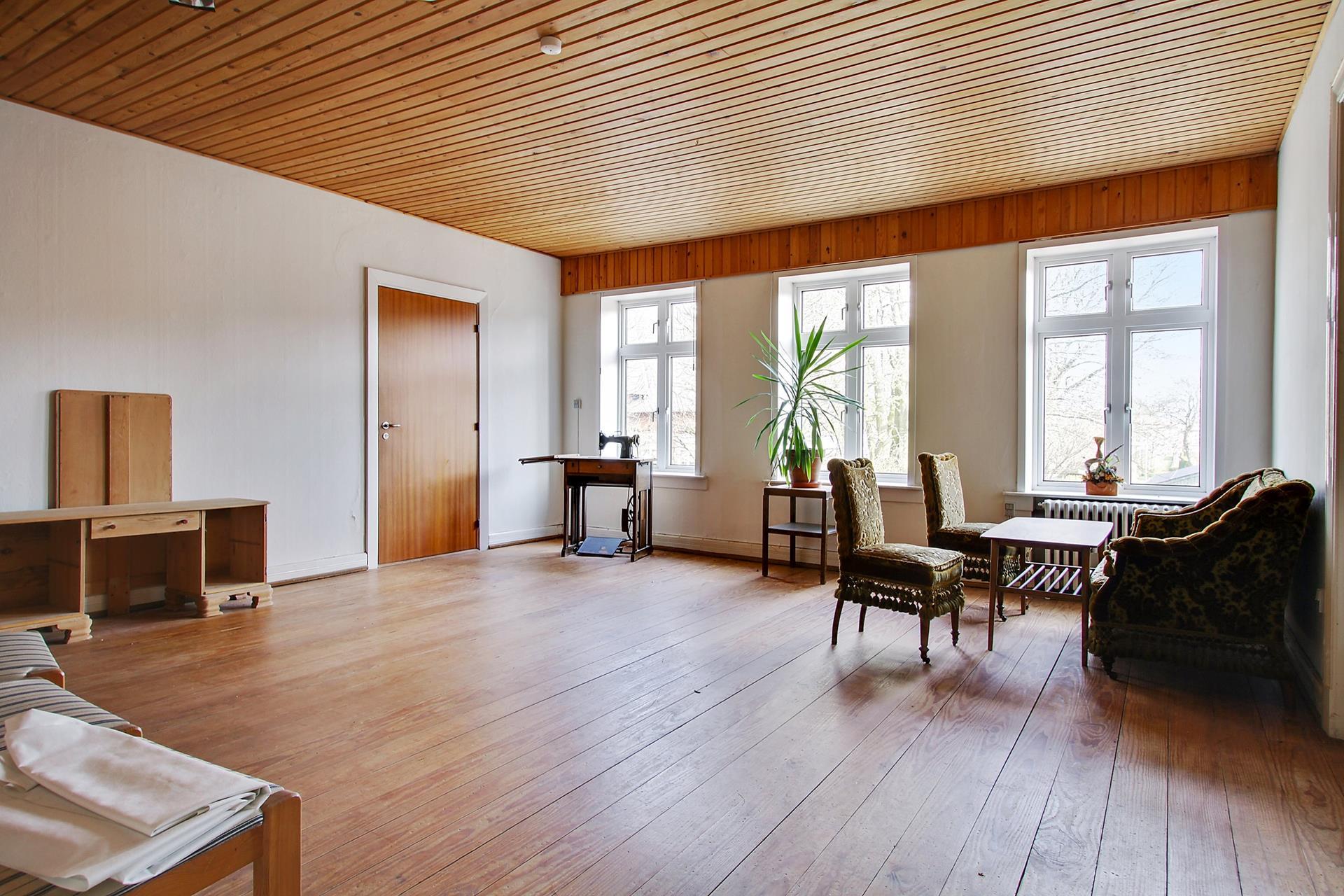 Bolig/erhverv på Storegade i Skærbæk - Stue