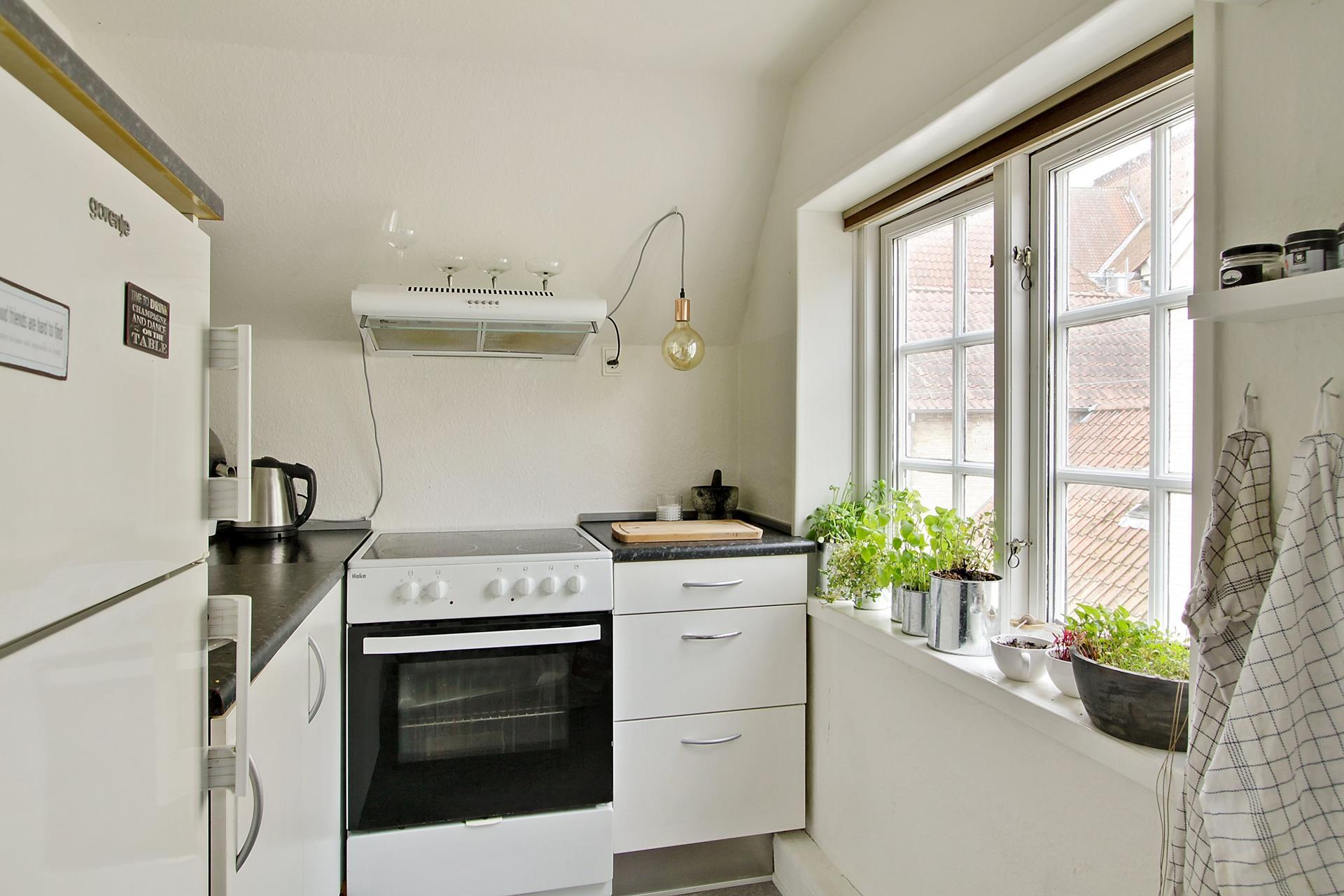 Bolig/erhverv på Bispegade i Haderslev - Køkken