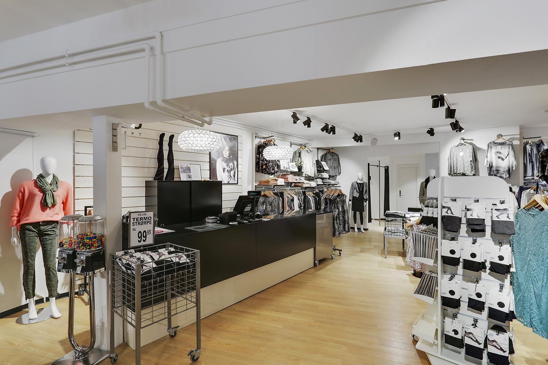 Bolig/erhverv på Storegade i Haderslev - Forretning