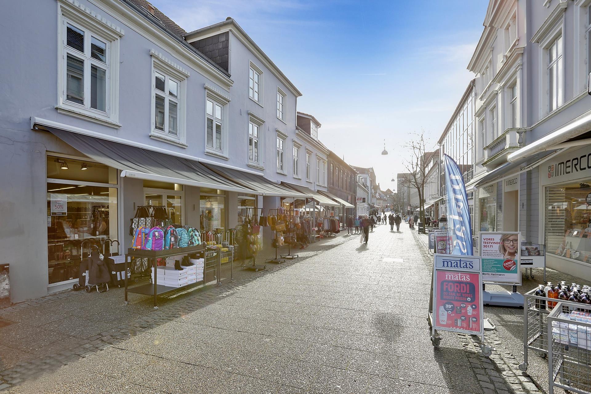 Bolig/erhverv på Storegade i Haderslev - Ejendommen