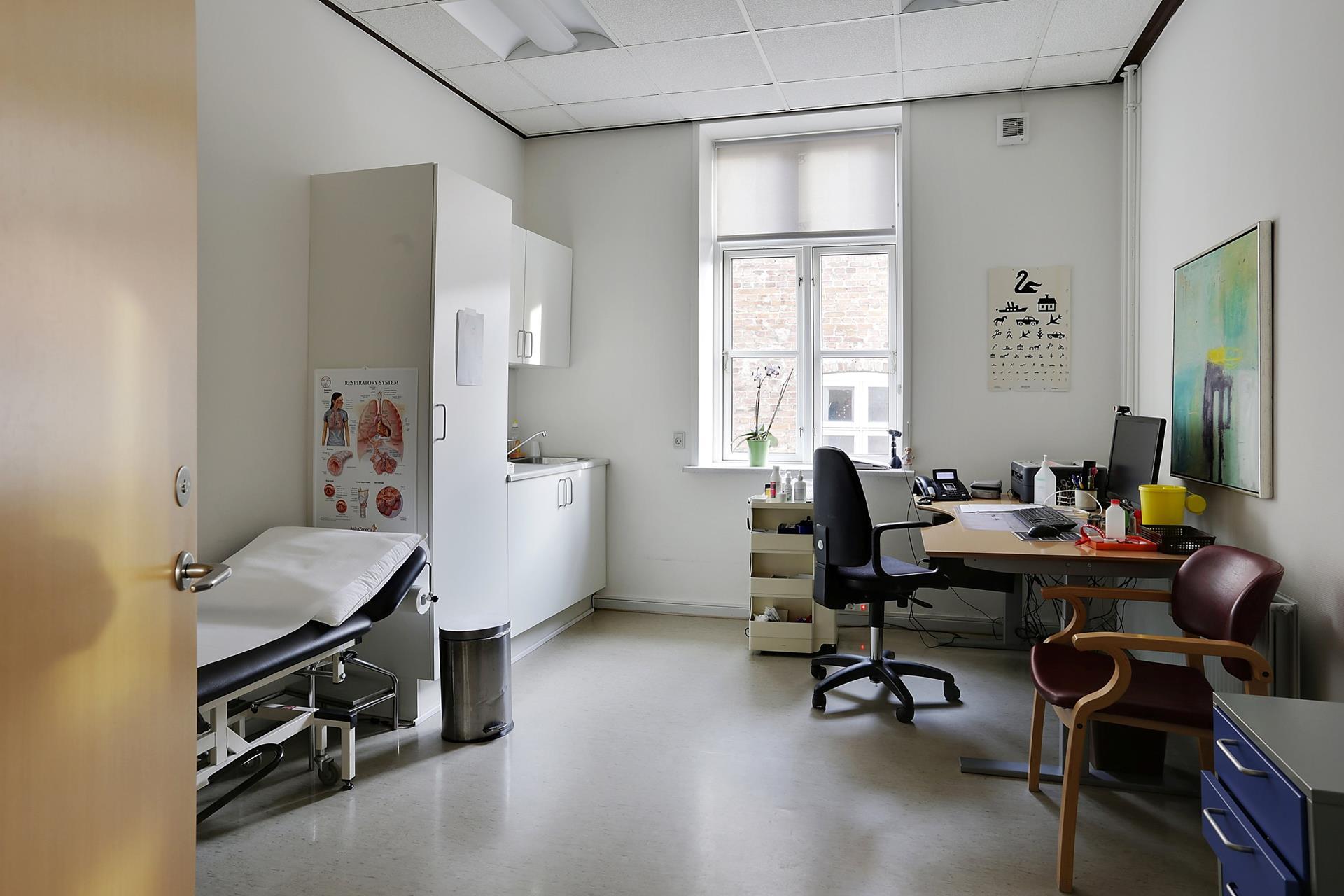 Bolig/erhverv på Nørregade i Haderslev - Kontor