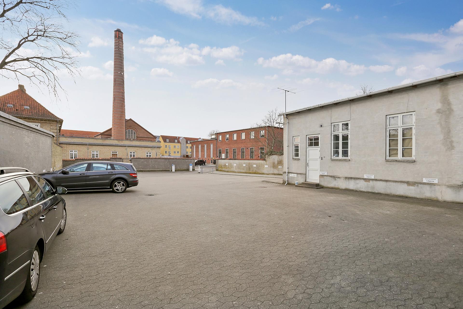 Bolig/erhverv på Nørregade i Haderslev - Terrasse