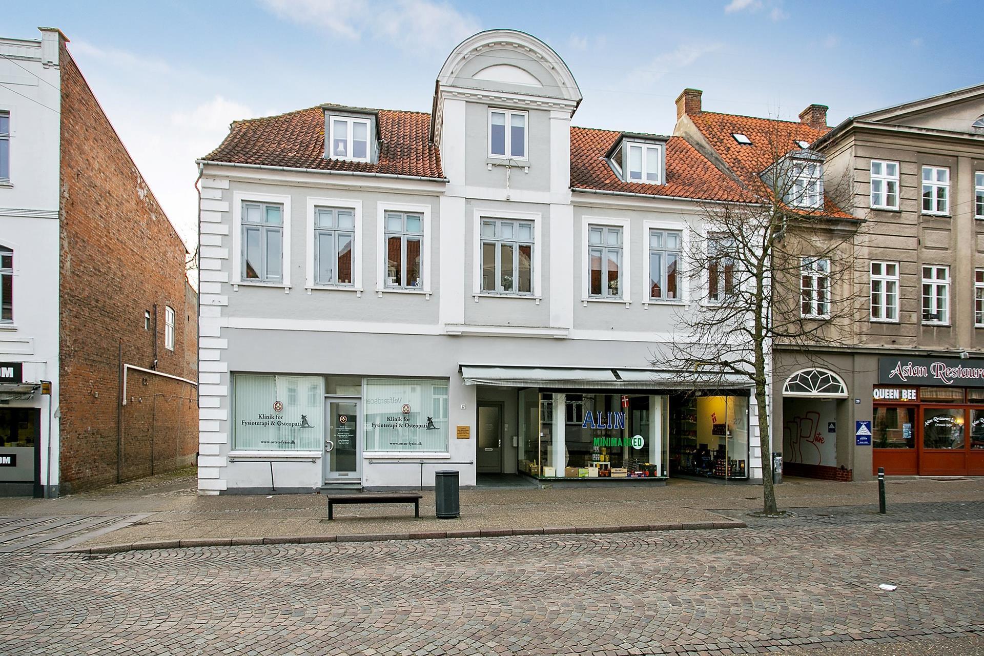 Bolig/erhverv på Nørregade i Haderslev - Facade