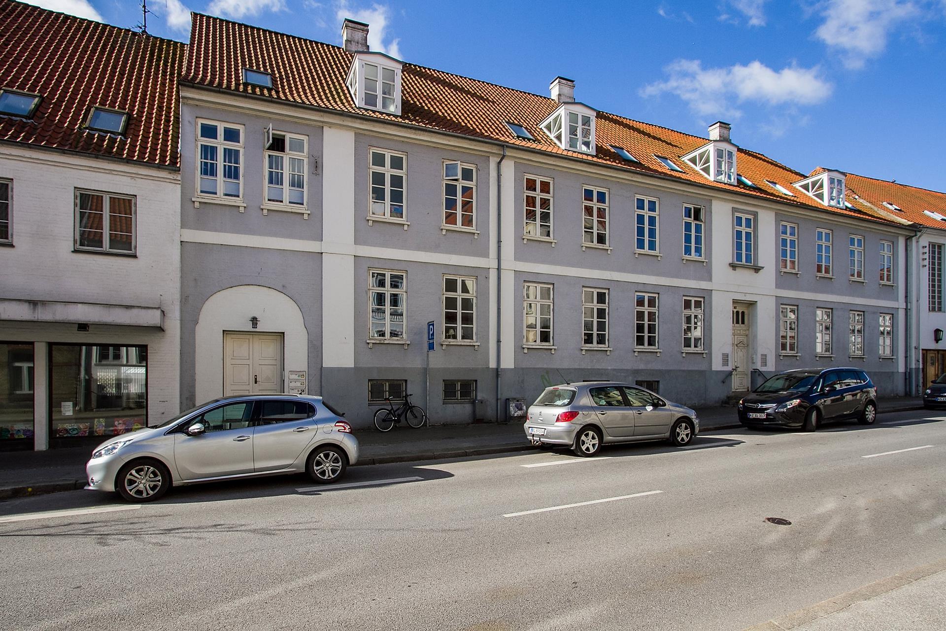 Boligudlejning på Storegade i Haderslev - Facade