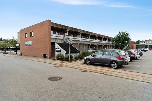 Produktion/lager på Østergade i Vojens - Facade