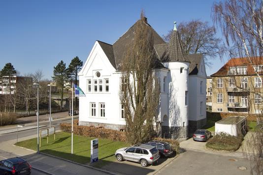 Kontor på Storegade i Haderslev - Ejendommen