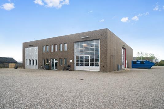 Produktion/lager på Industriparken i Vojens - Ejendommen