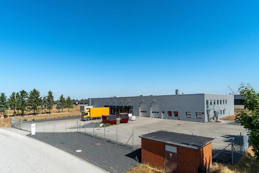 Produktion/lager på Skånevej i Rødekro - Facade