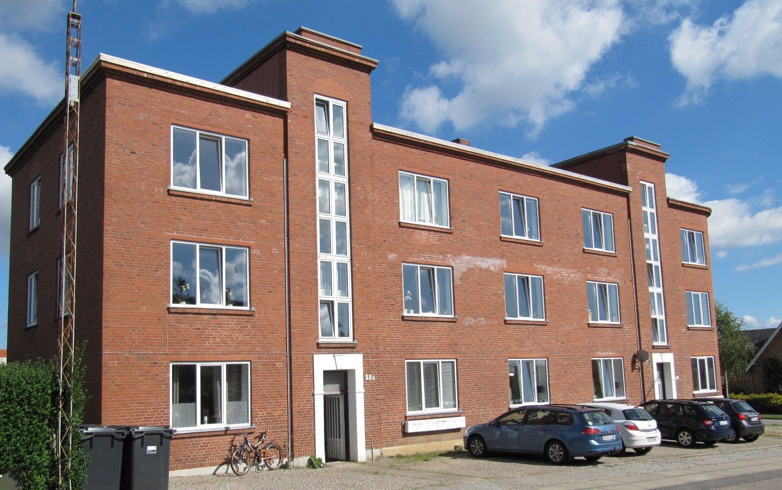 Boligudlejning på Langbrogade i Sønderborg - Facade