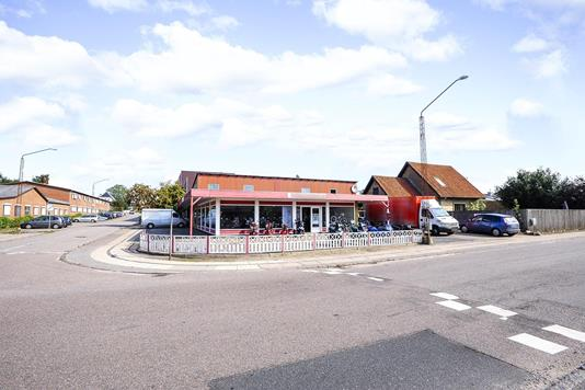 Bolig/erhverv på Vølundsgade i Sønderborg - Facade