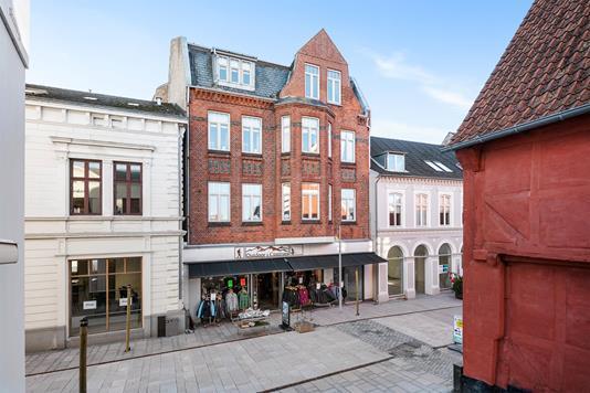 Bolig/erhverv på Perlegade i Sønderborg - Ejendommen