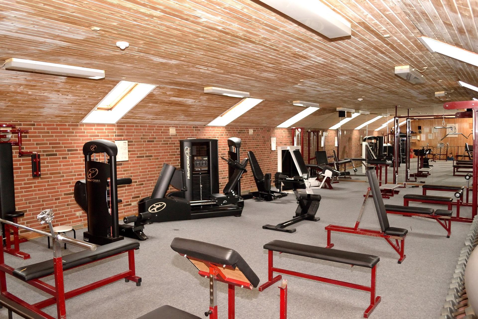 Bolig/erhverv på Augustenborg Landevej i Sønderborg - Fitness lokale