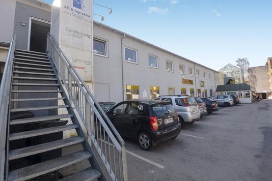 Kontor på Østergade i Sønderborg - Facade