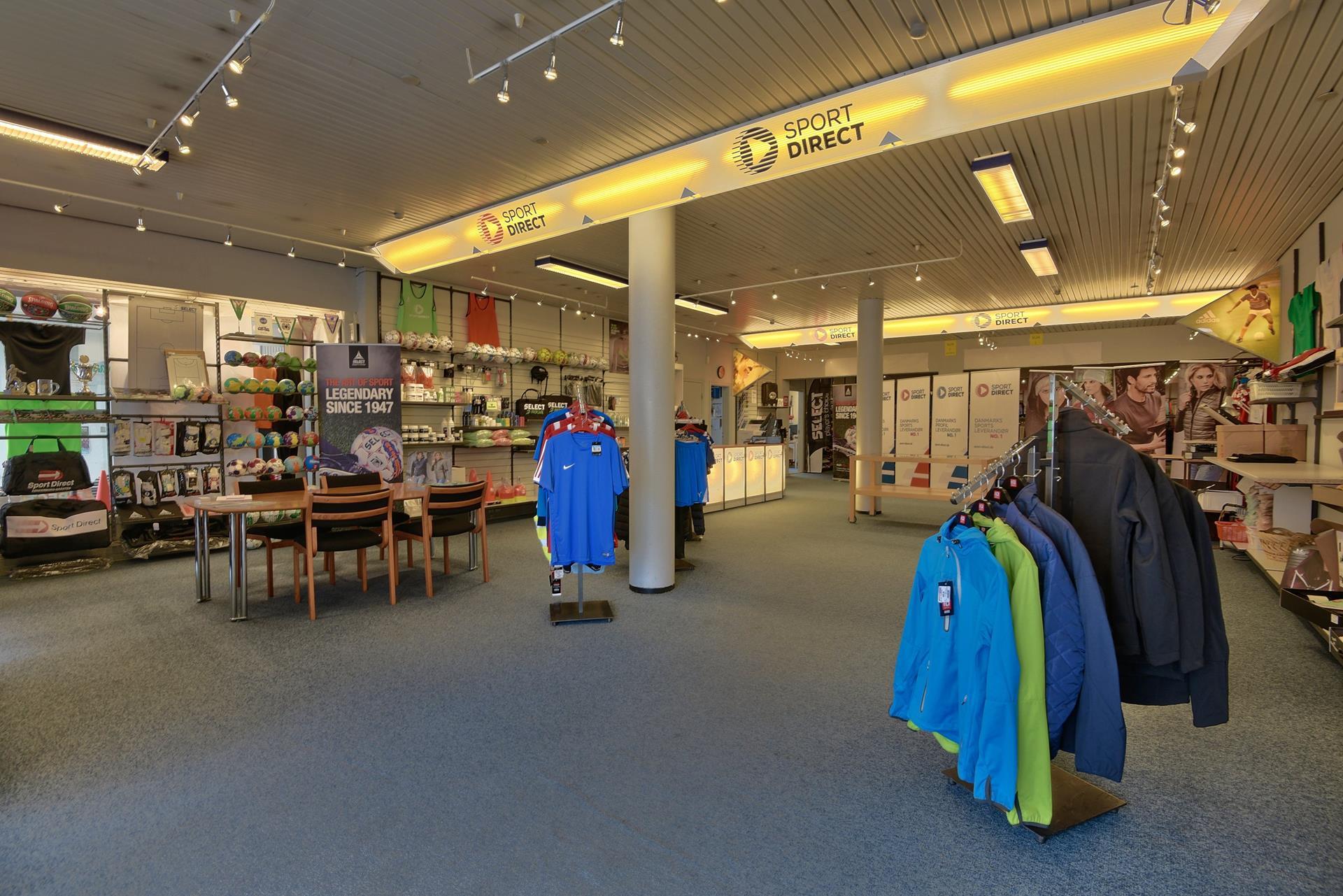 Bolig/erhverv på Nygade i Gråsten - Forretningslokale