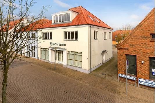 Bolig/erhverv på Storegade i Augustenborg - Facade