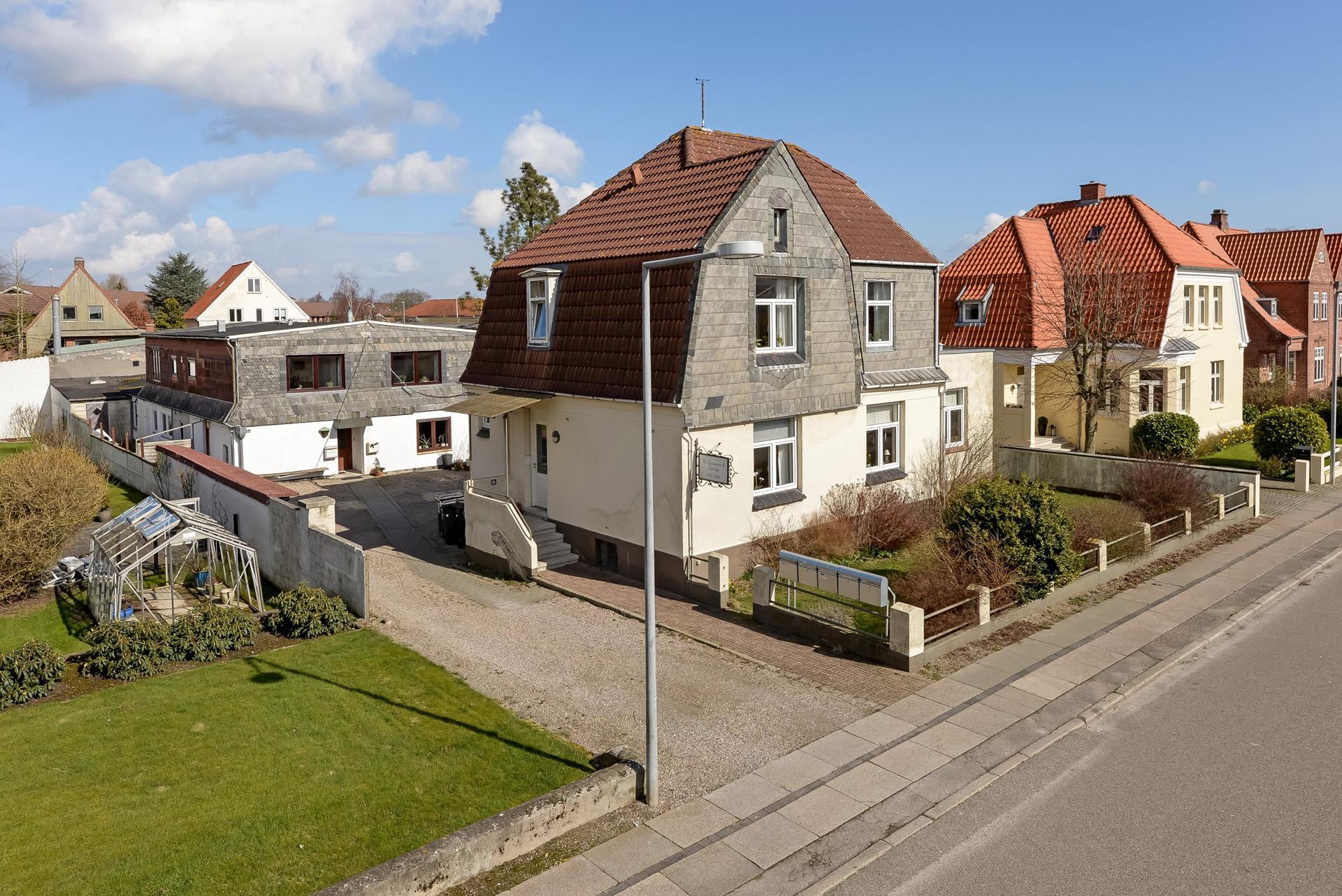 Bolig/erhverv på Goethesgade i Sønderborg - Ejendommen