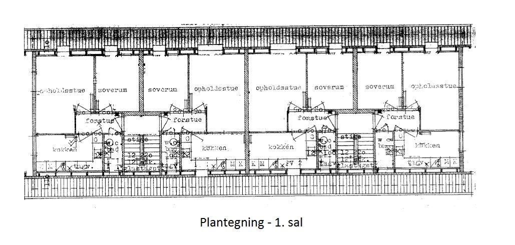 Boligudlejning på Ryttervænget i Sønderborg - Plantegning