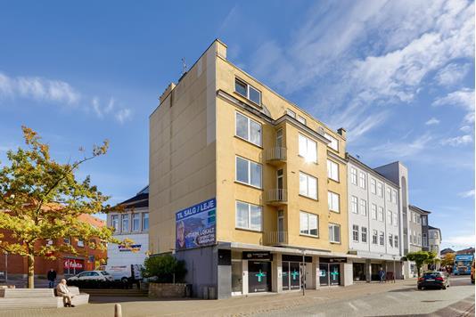 Bolig/erhverv på Jernbanegade i Sønderborg - Facade