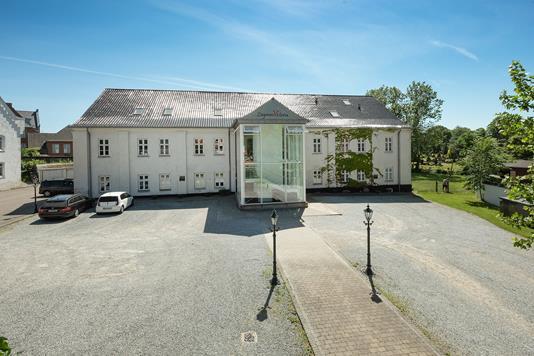 Kontor på Helgolandsgade i Sønderborg - Ejendommen