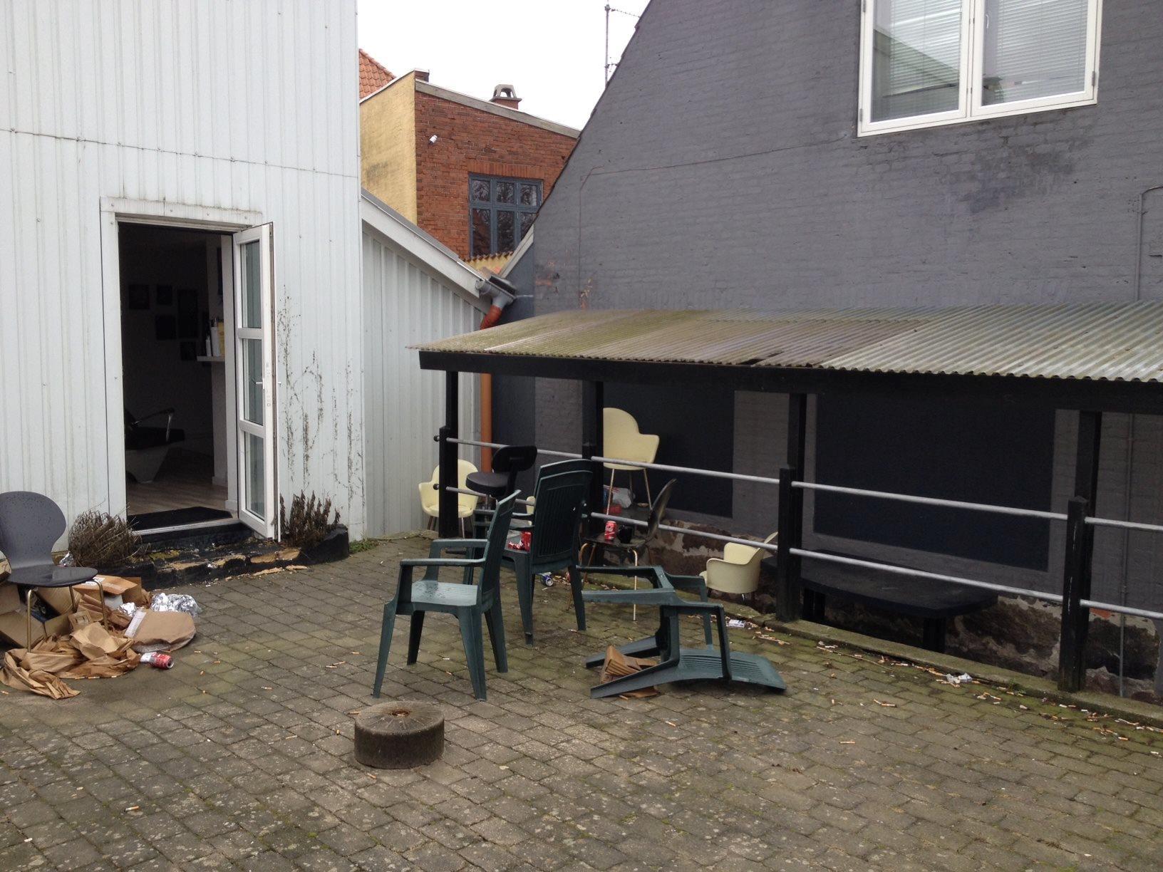 Bolig/erhverv på Rønhavegade i Sønderborg - Baggård