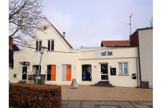 Bolig/erhverv på Rønhavegade i Sønderborg - Facade