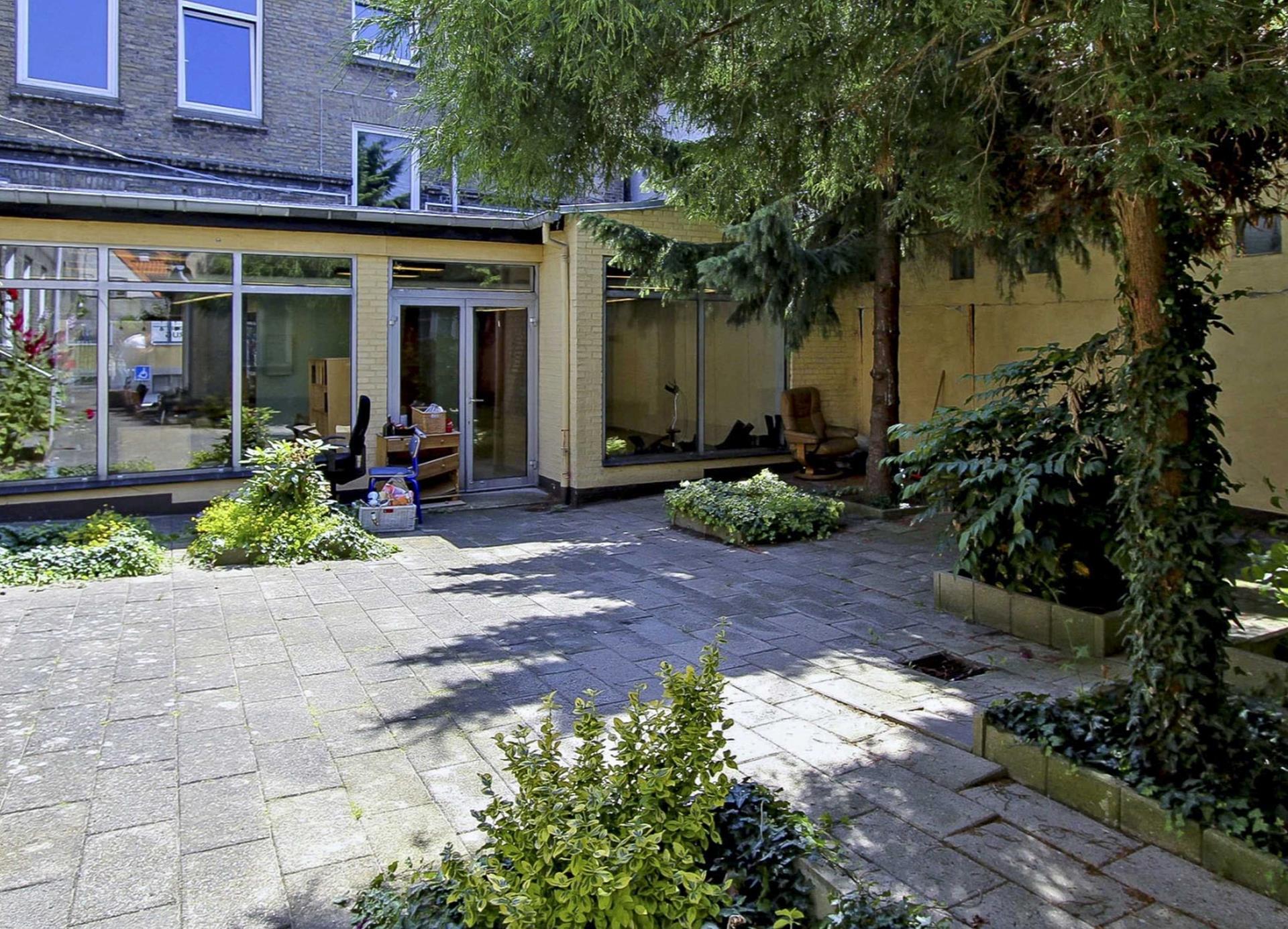 Bolig/erhverv på Store Rådhusgade i Sønderborg - Gårdhave