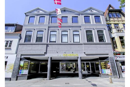 Bolig/erhverv på Store Rådhusgade i Sønderborg - Ejendommen
