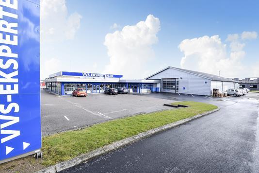 Produktion/lager på Kærvej i Sønderborg - Facade