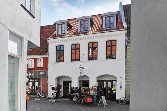 Detail på Perlegade i Sønderborg - Ejendommen