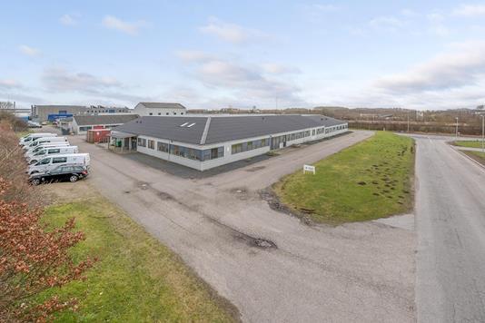 Kontor på Snaremosevej i Fredericia - Område