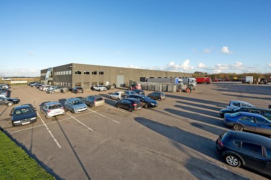 Produktion/lager på Stiftsvej i Vejle - Ejendommen