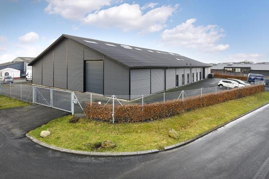 Produktion/lager på Vognmagervej i Fredericia - Ejendommen