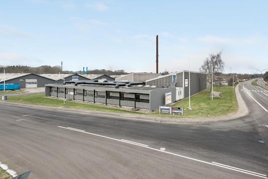 Produktion/lager på Diskovej i Vejle - Ejendommen