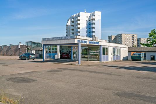 Produktion/lager på Vejlevej i Fredericia - Ejendommen