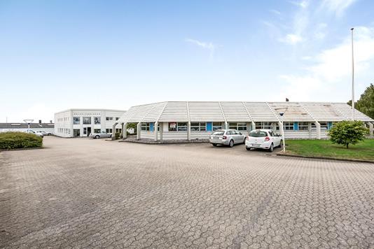 Produktion/lager på Industrivej i Vejle Øst - Ejendommen