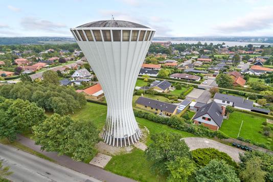 Projektejendom på Sjællandsvej i Kolding - Luftfoto