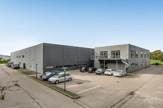 Produktion/lager på Pottemagervej i Vejle - Ejendommen