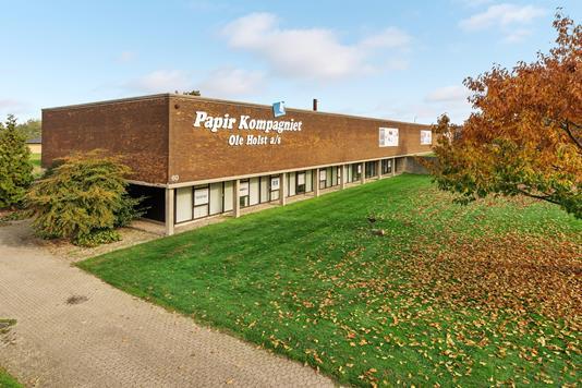 Kontor/lager på Vejlevej i Fredericia - Ejendommen