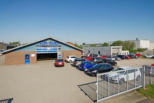 Produktion/lager på Platinvej i Kolding - Ejendommen