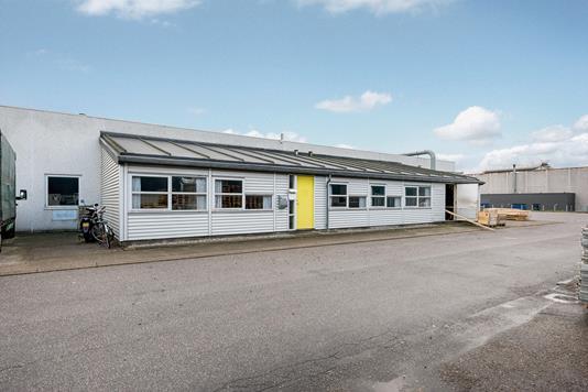 Kontor på Birkedam i Kolding - Ejendommen
