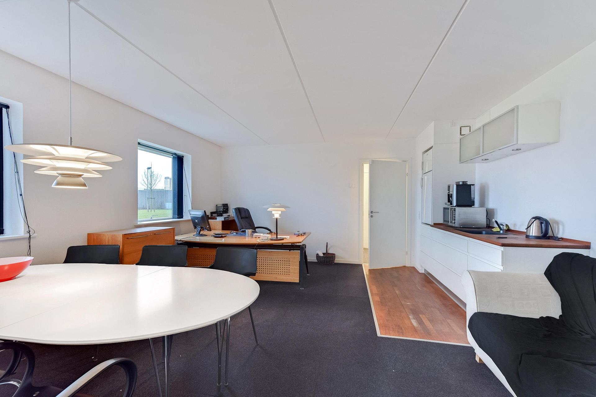 Detail på Nyvang i Middelfart - Kontor