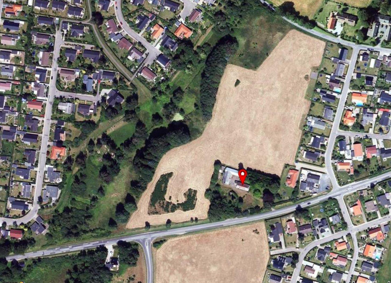 Erhvervsgrund på Vardevej i Vejle - Kort