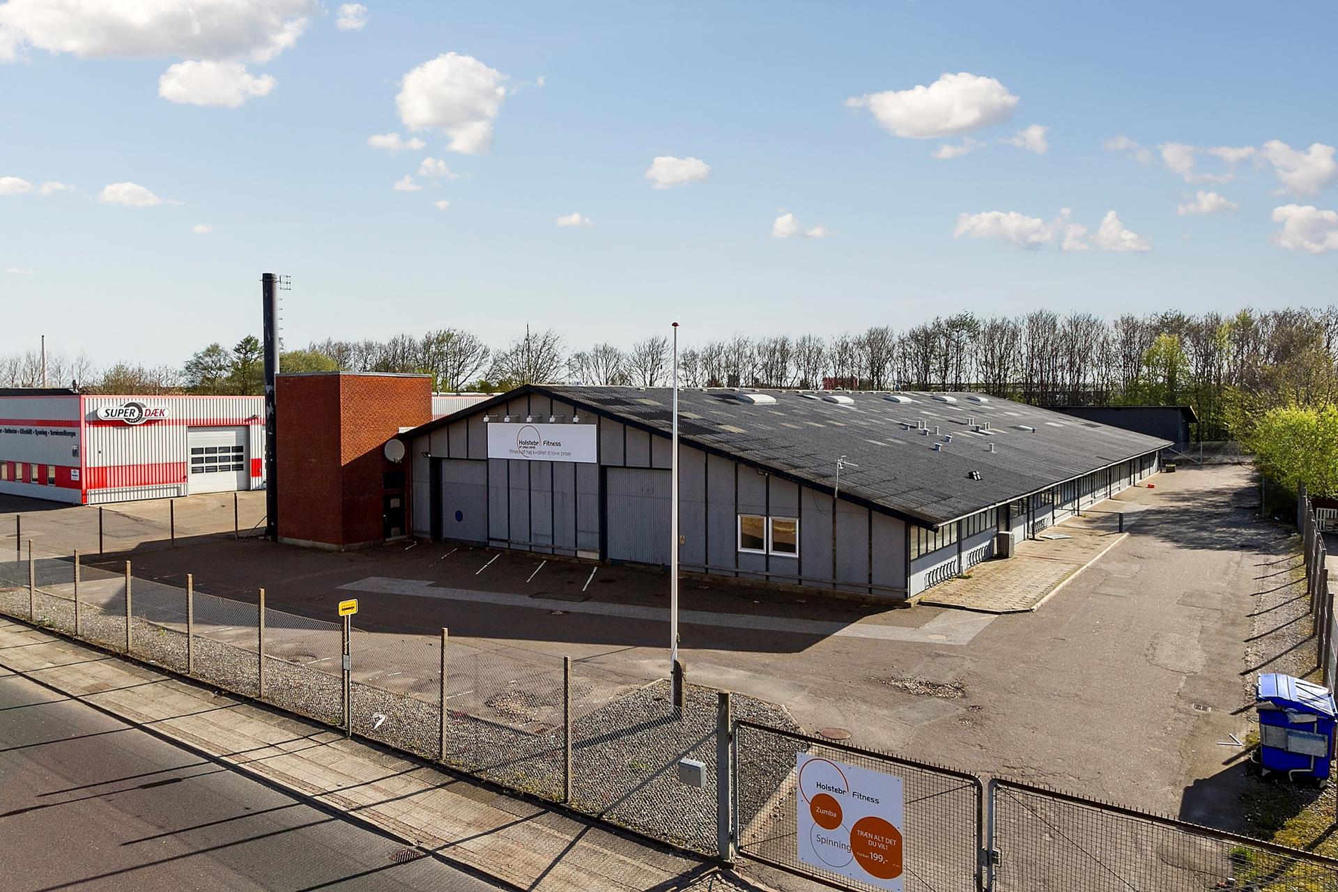 Produktion/lager på Gartnerivej i Holstebro - Ejendommen