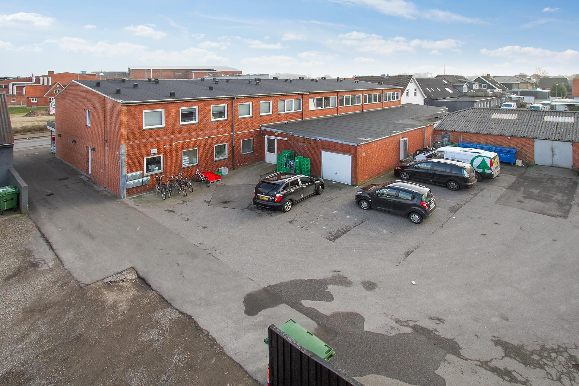 Bolig/erhverv på Struervej i Holstebro - Baggård