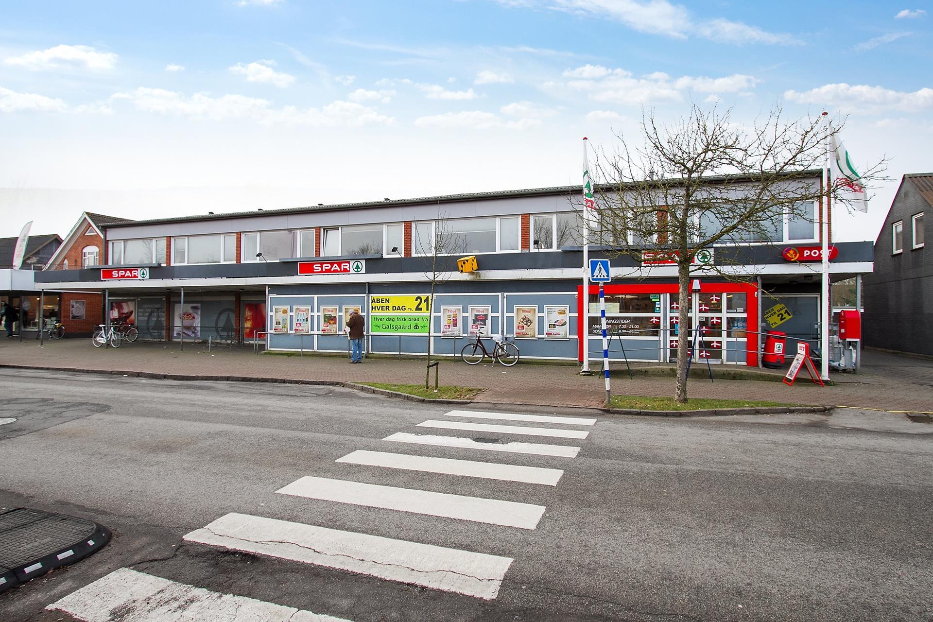 Bolig/erhverv på Struervej i Holstebro - Facade