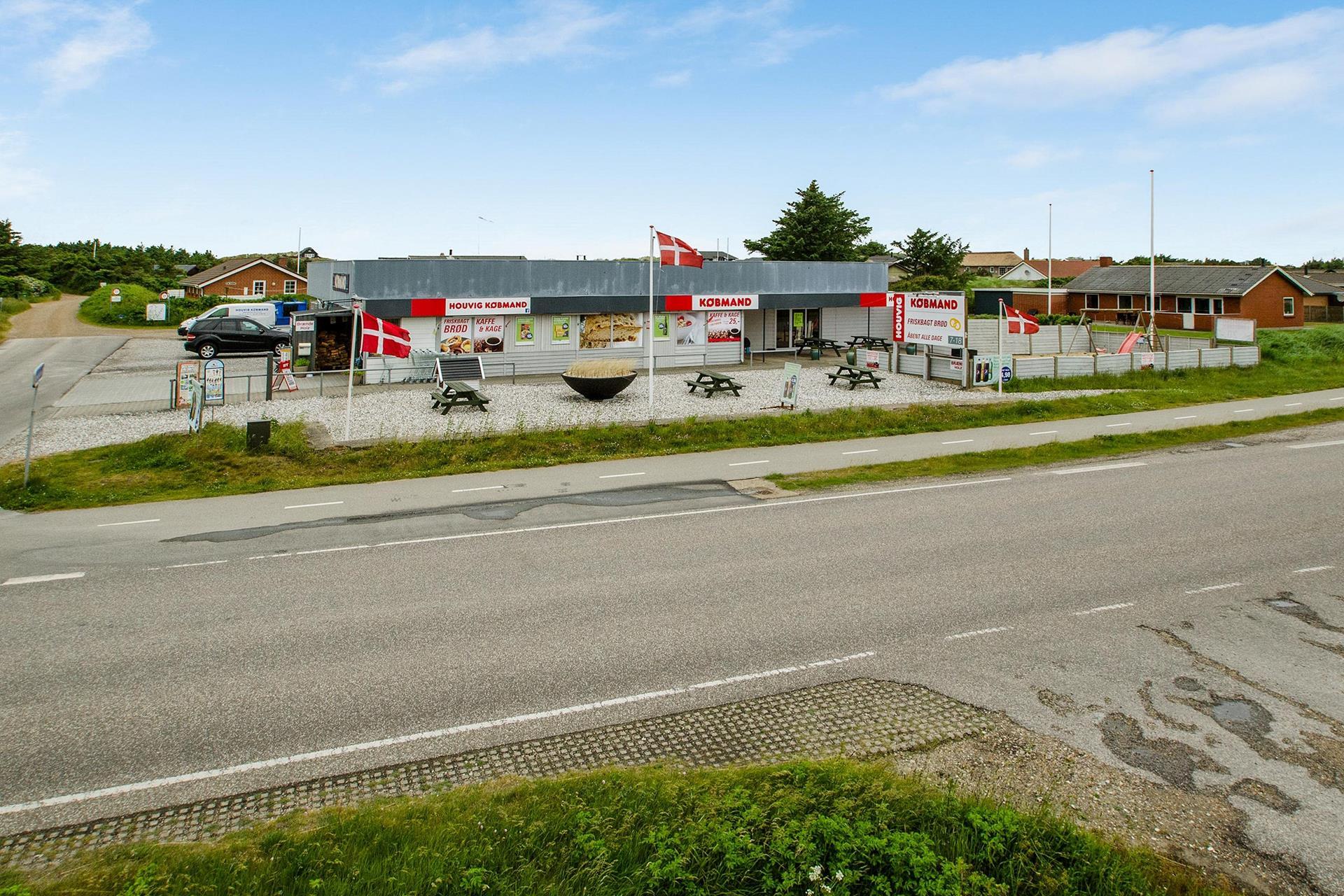 Detail på Houvig Klitvej i Ringkøbing - Ejendommen