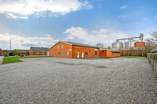 Produktion/lager på Østervang i Hjerm - Ejendommen